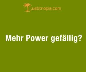 Mehr Power gefällig?
