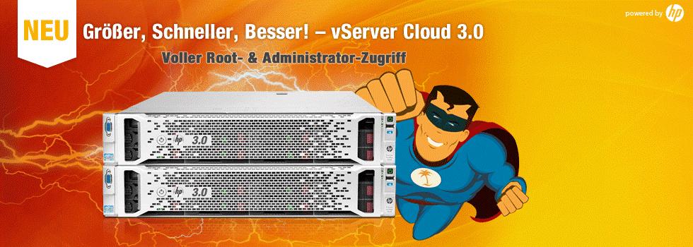 vServer Cloud 3.0