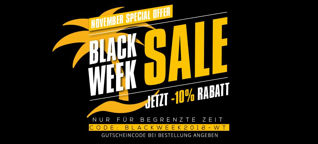 Blackweek 2018 at webtropia.com