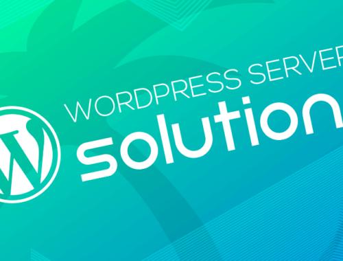 WordPress Server Solution Logo
