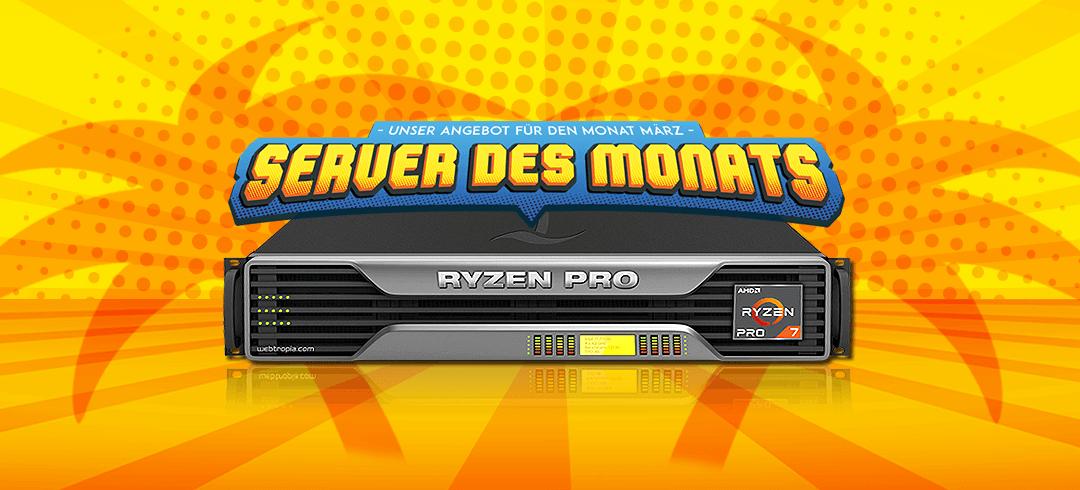 Server des Monats März