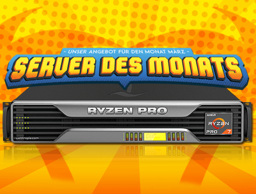 Server of the month March