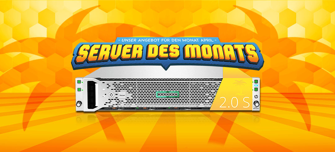 Server of the month April