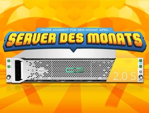Server des Monats April