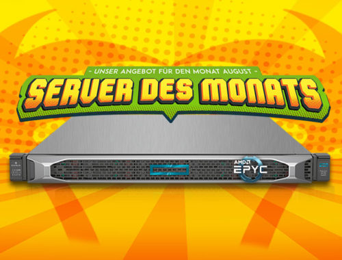 Server of the month August