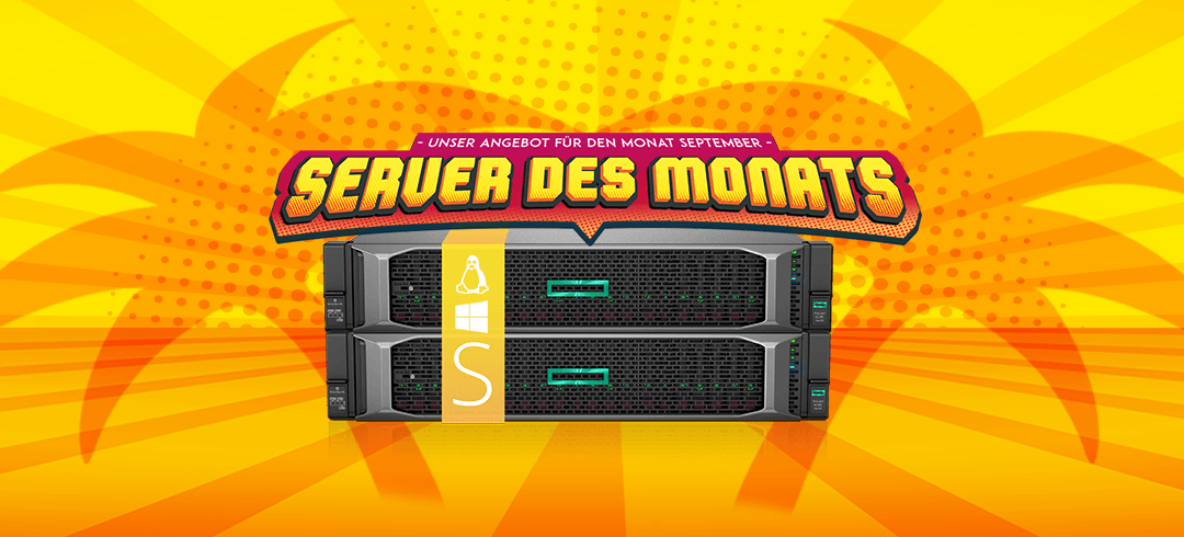 Server des Monats September